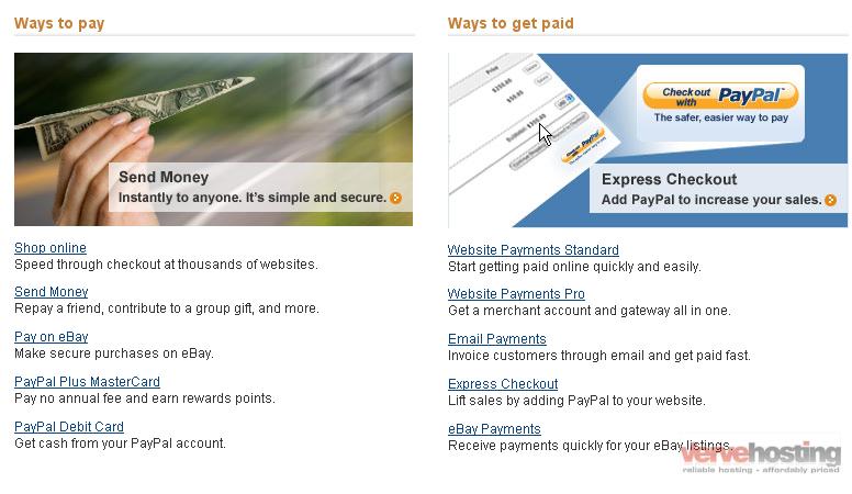 how to apply for a paypal debit card knowledgebase verve hosting inc. Black Bedroom Furniture Sets. Home Design Ideas