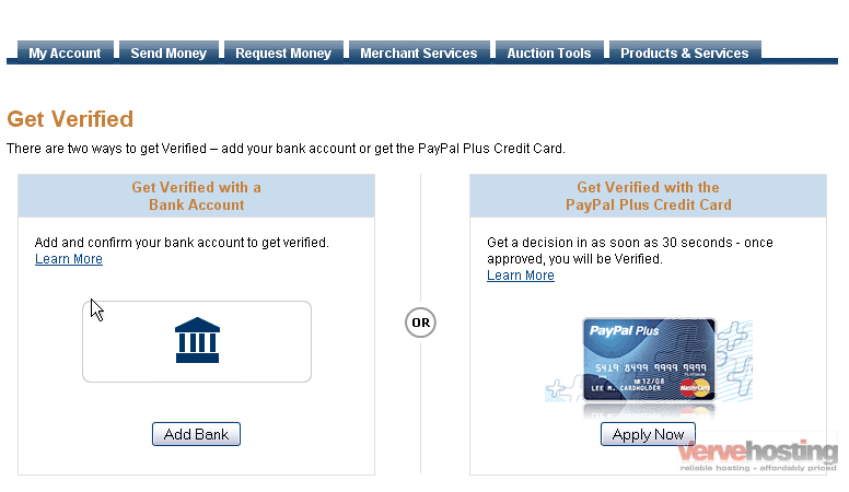 How to verify your new PayPal account - Knowledgebase