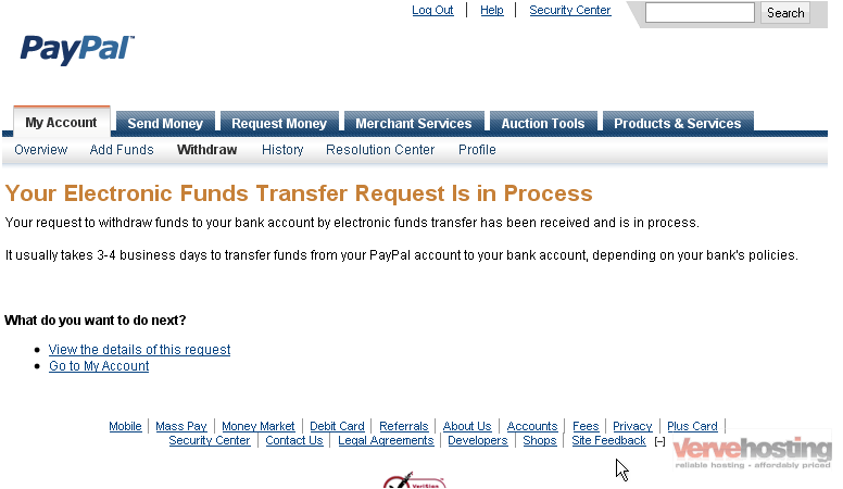 How to withdraw funds from your PayPal account - Məlumat