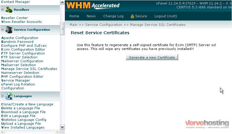 How To Manage The Ssl Certificates Used By Your Services In Whm